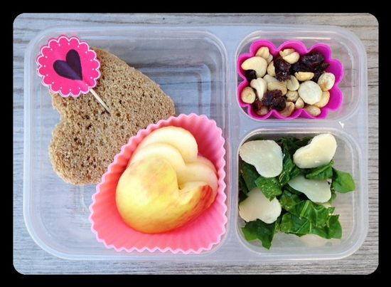 Valentine's Day Lunch from 100 Days of Real Food