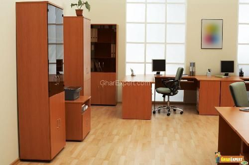 Increase productivity with office design ~ gharexpert.com