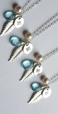 initial necklaces. love!