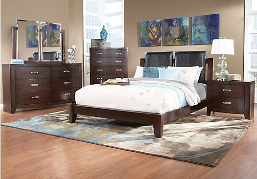 park 5 pc queen bedroom at rooms to go find queen bedroom sets
