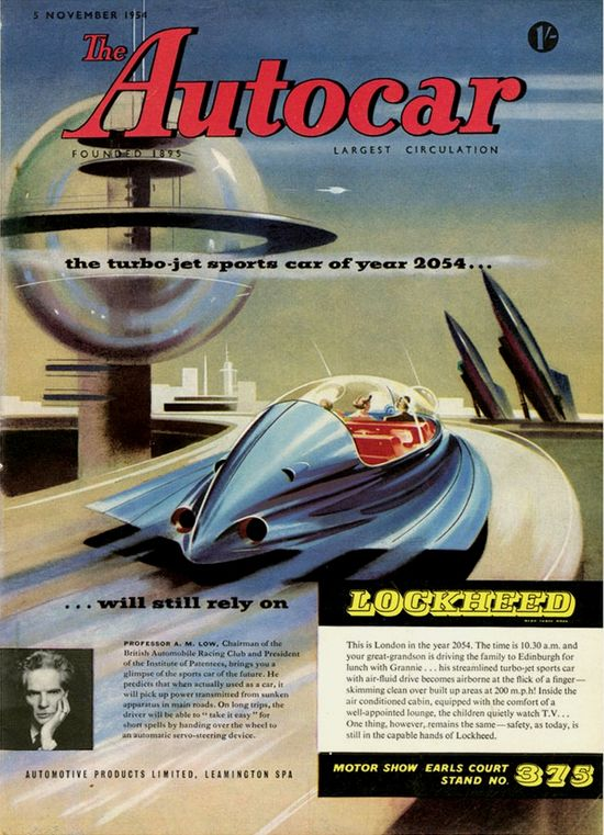 Turbo-jet sports car of yaer 2054 - Lockheed