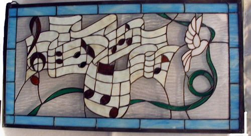 stained glass musica
