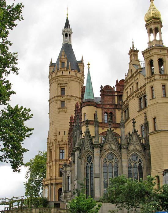 Medieval, Schwerin Castle, Germany