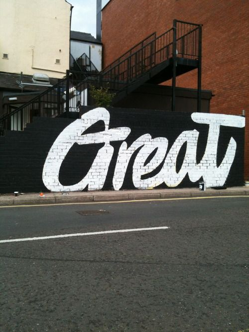 Type + GREAT!
