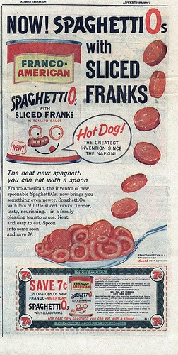 May 16, 1965: Franco-American sells SpaghettiOs for the first time.