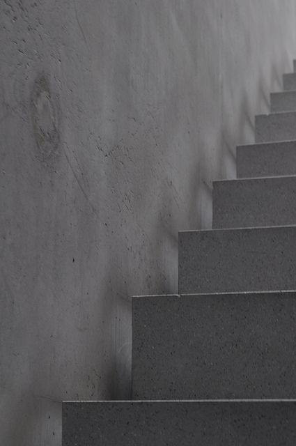 Kunsthaus Stair Detail    Peter Zumthor
