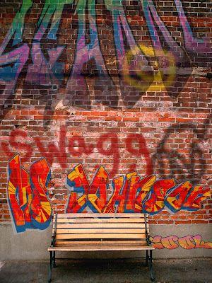 Graffiti art lesson
