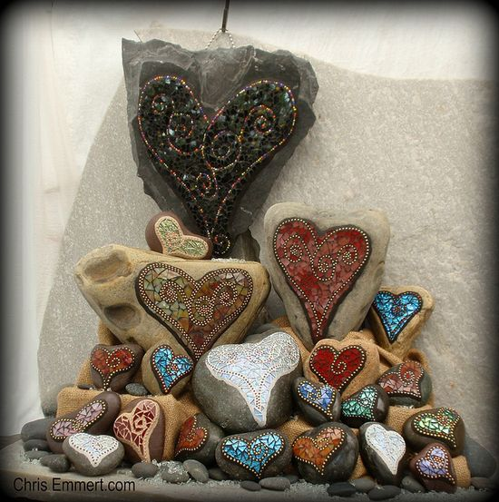 *Hearts on stones~?