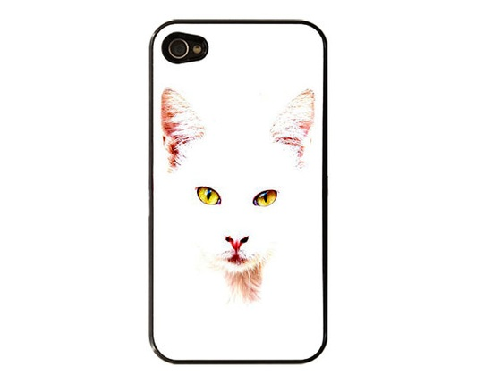 Cat  iPhone 4 / 4S Case iPhone 5 Casesublimation by StyleCase, $9.99