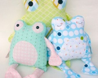 SALE Fritter Frog PDF Doll Pattern