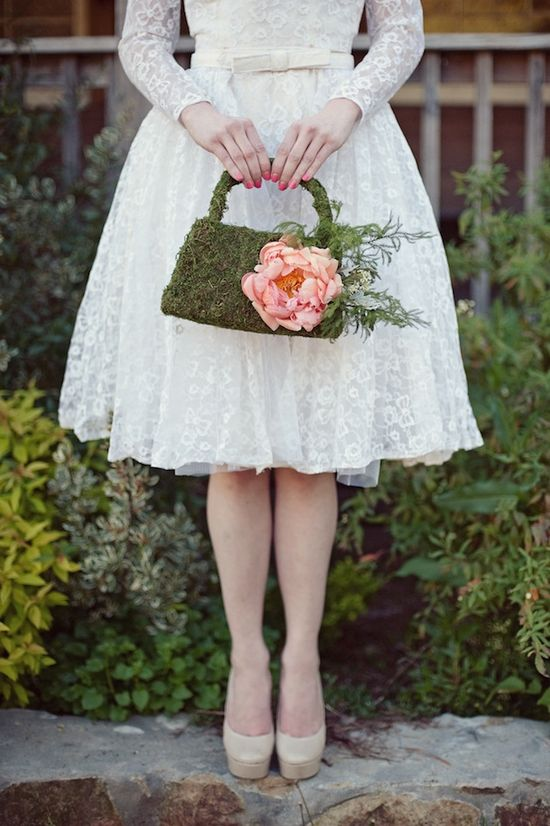 moss never looked so chic ~ creative bag by @Chris Huckleberry Nicola Karen