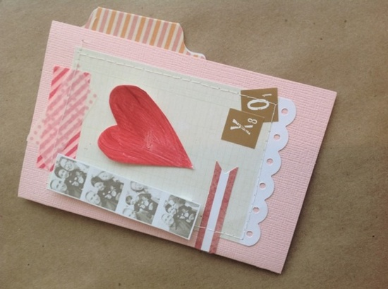 inspire co. handmade Valentine cards