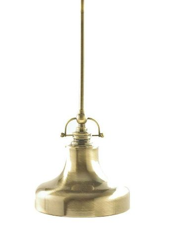 Home Depot Mini Pendant Brass Light. $13.99