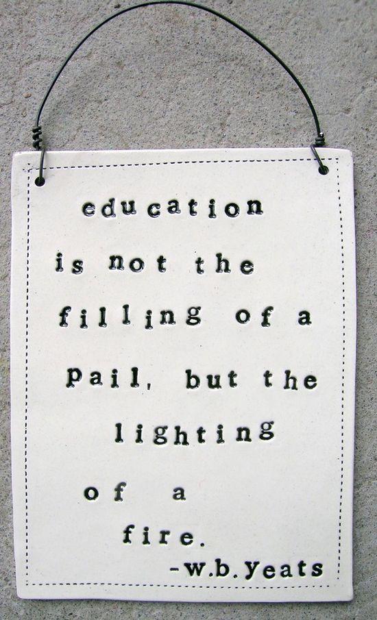 Inspired and inspiring teachers