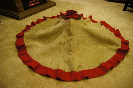Rustic Christmas Tree Skirt