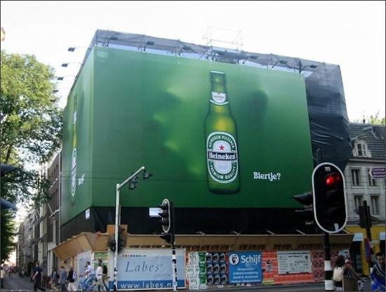 Heineken Beer Billboard from the Netherlands
