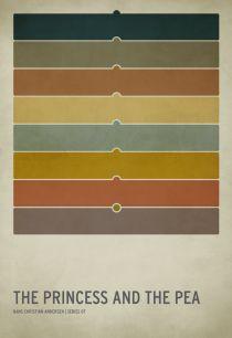 minimalist fairytale posters