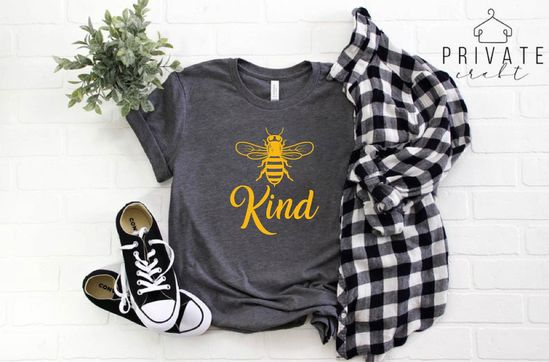 Bee Kind Shirt Bee Shirt Kind Bee T Shirt Christmas Gift | Etsy
