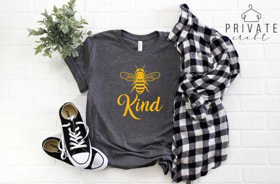 Bee Kind Shirt Bee Shirt Kind Bee T Shirt Christmas Gift | Etsy