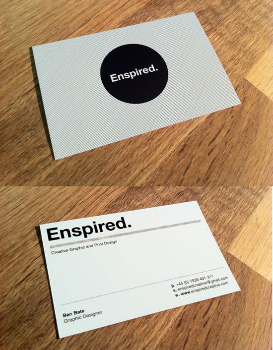 Enspired Creative Graphic Print Design