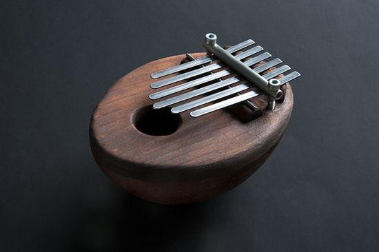 Handmade musical instrument Calimba.