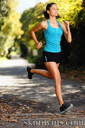 9 Ways to Improve Your Running Form. #SkinnyMs.Fitness
