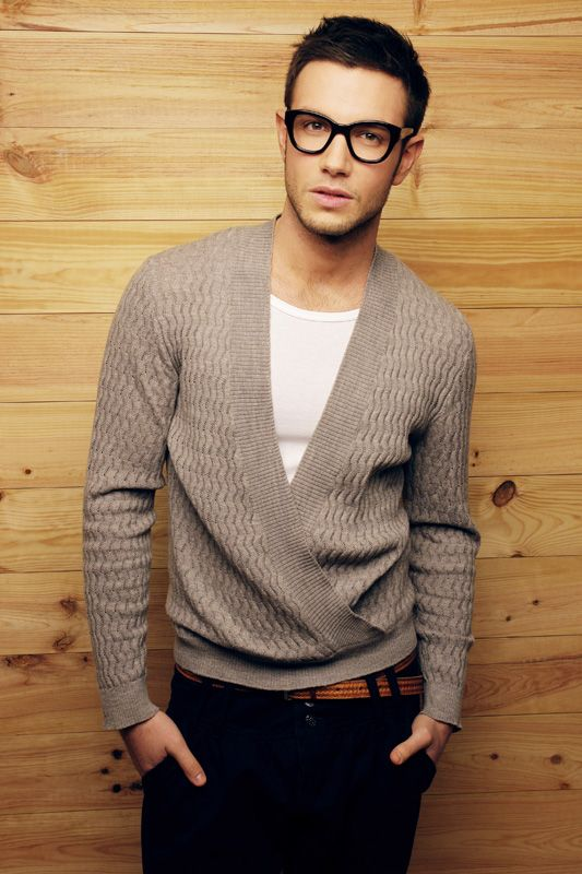 Wow! This is a outfit of Vincent Schoepfer AW 2012-13 mans collection...I want this cardigan, it's perfect