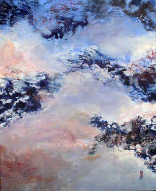 "Saatchi Art Artist Robert Gheyssens; Painting, ""LHIVER  ARRIVE"" #art"