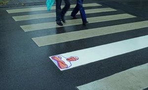Mister Clean works well ! (Street Marketing)