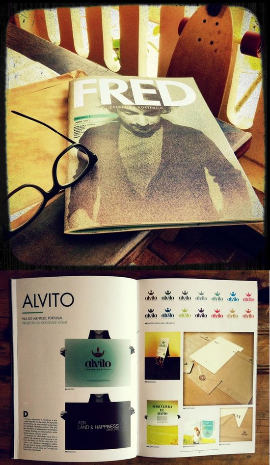 Printed Graphic Design Portfolio Example - Frederico Cardoso