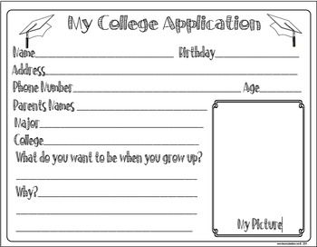 It's Never Too Early For College! Craft and Activity Pack Freebie Included!