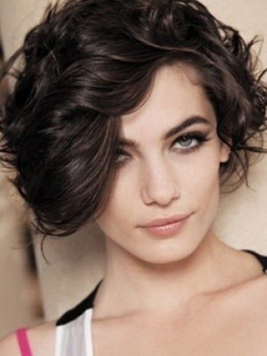 2013 Curly Black Hairstyles for Short Hair