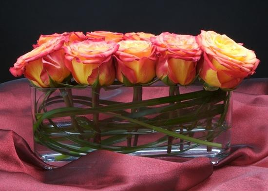 great flower arrangement