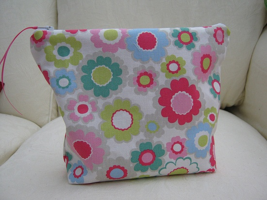 Sock kit pouch Cath Kidston fabric by judi.stynes, via Flickr