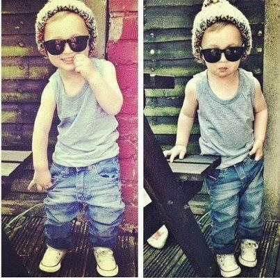Baby outfit jeans