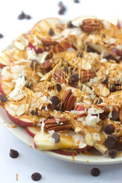 Apple Nachos #vegan