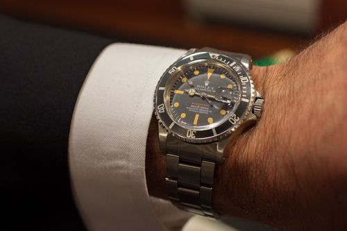 Found: A Rolex Red Submariner With Full Kit At Christie's New York