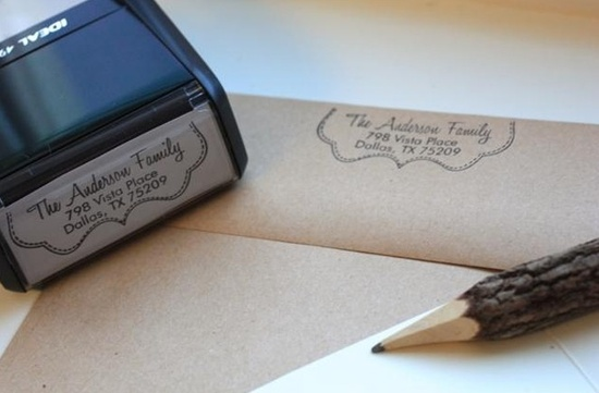Personalized Self Inking Stamps!