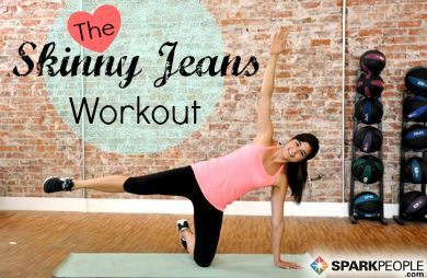 The 6-Minute Skinny Jeans Workout via @SparkPeople