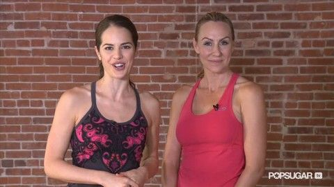 quick 10 minute workout video  ~Victoria's Secret Model's Full-Body Workout
