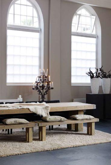 Beautiful Rustic Dining Table
