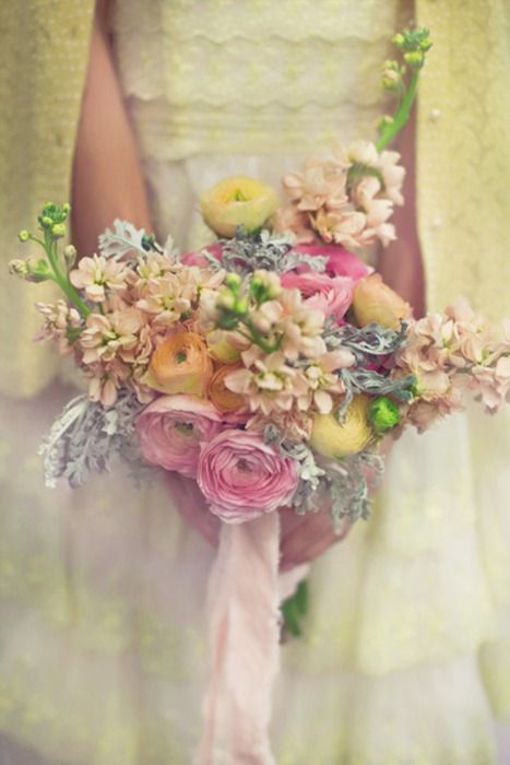 vintage and romantic inspired bouquet