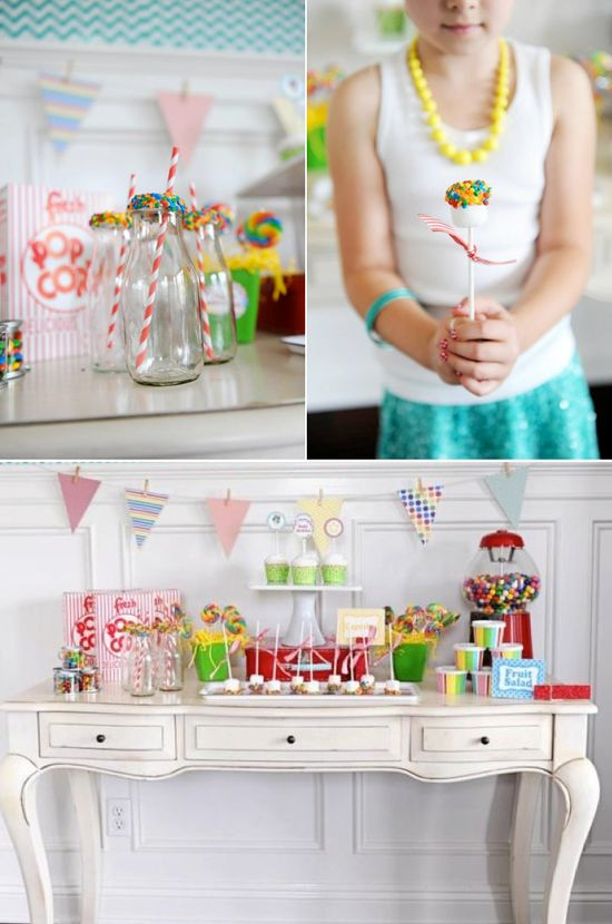 Awesome party idea WEBSITE full of cute party ideas! Karas Party Ideas
