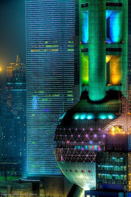 Futuristic Architecture, Shanghai.