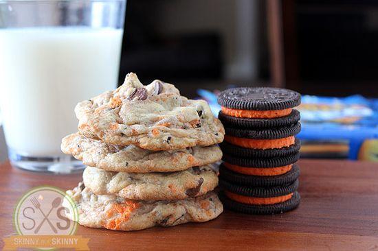 Halloween Oreo Pudding Cookies