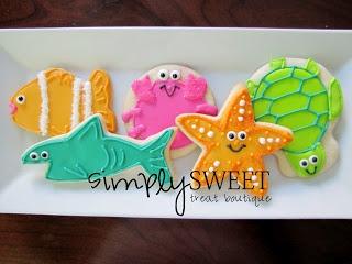 SimplySweet Treat Boutique: Birthday Cookies