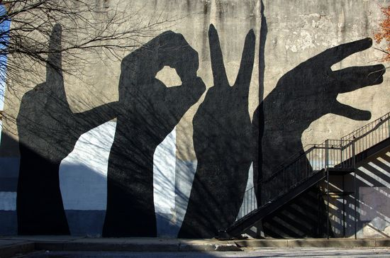 Shadows of love ? #graffiti #art