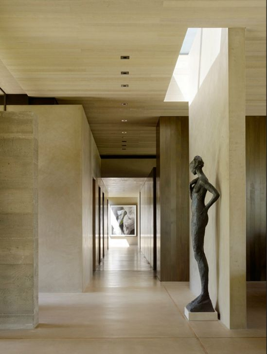 Interior of the San Joaquin Valley Residence by Aidlin Darling Design. Beautiful.