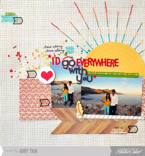 I'd Go Everywhere With You *Main Kit Only* by amytangerine at Studio Calico