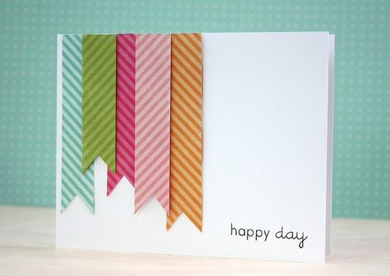 Make It Monday #65: Background Patterns From Patterned Paper Scraps by L. Bassen, via Flickr